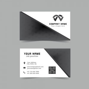 abstract; professional; business card; design; template; modern; black & white