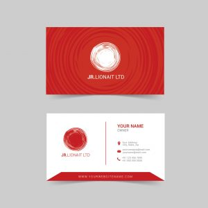 visiting card; design; business card; red; modern; business; abstract; template; creative
