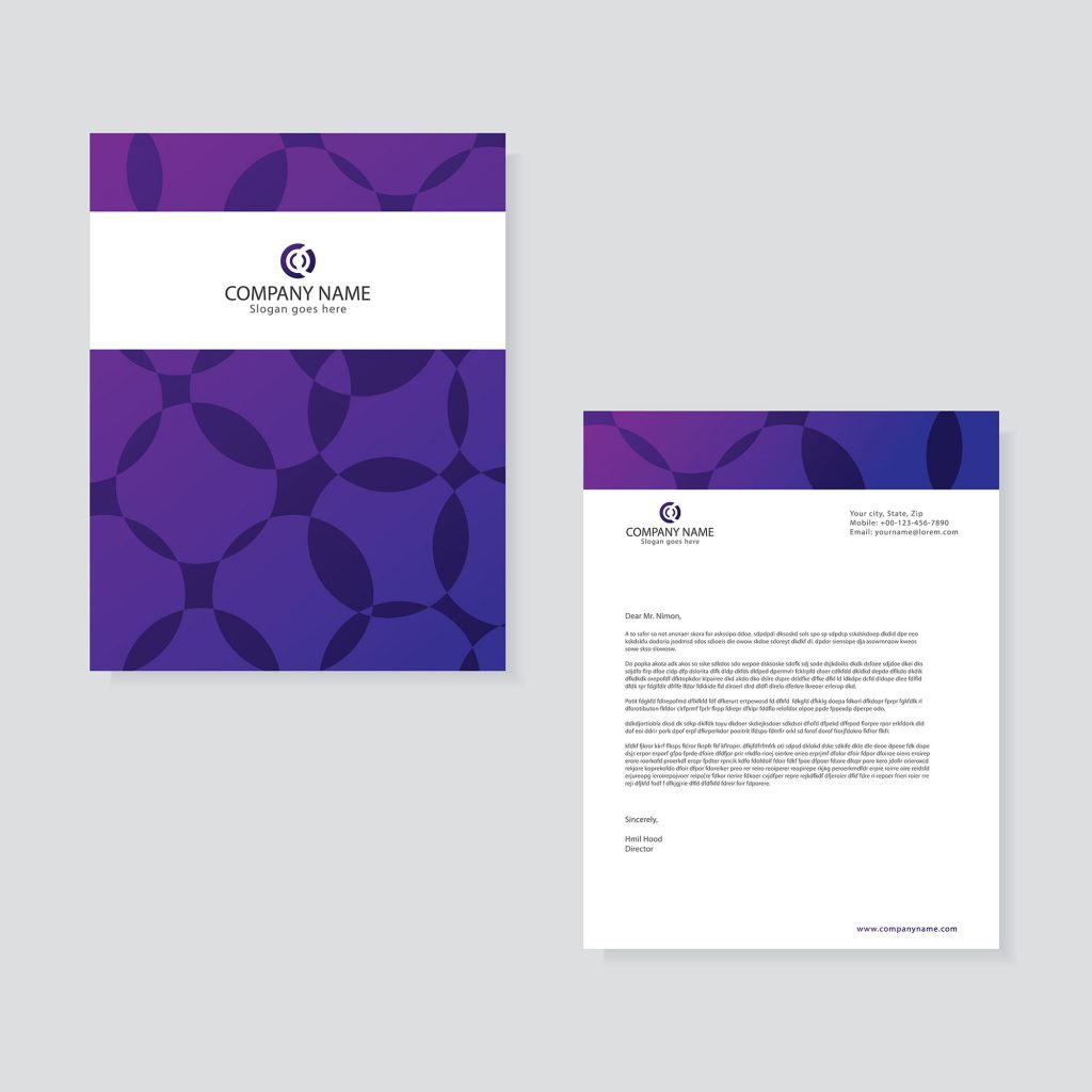 Professional Company Letterhead Template: Professional Business Letterhead Template Free Download