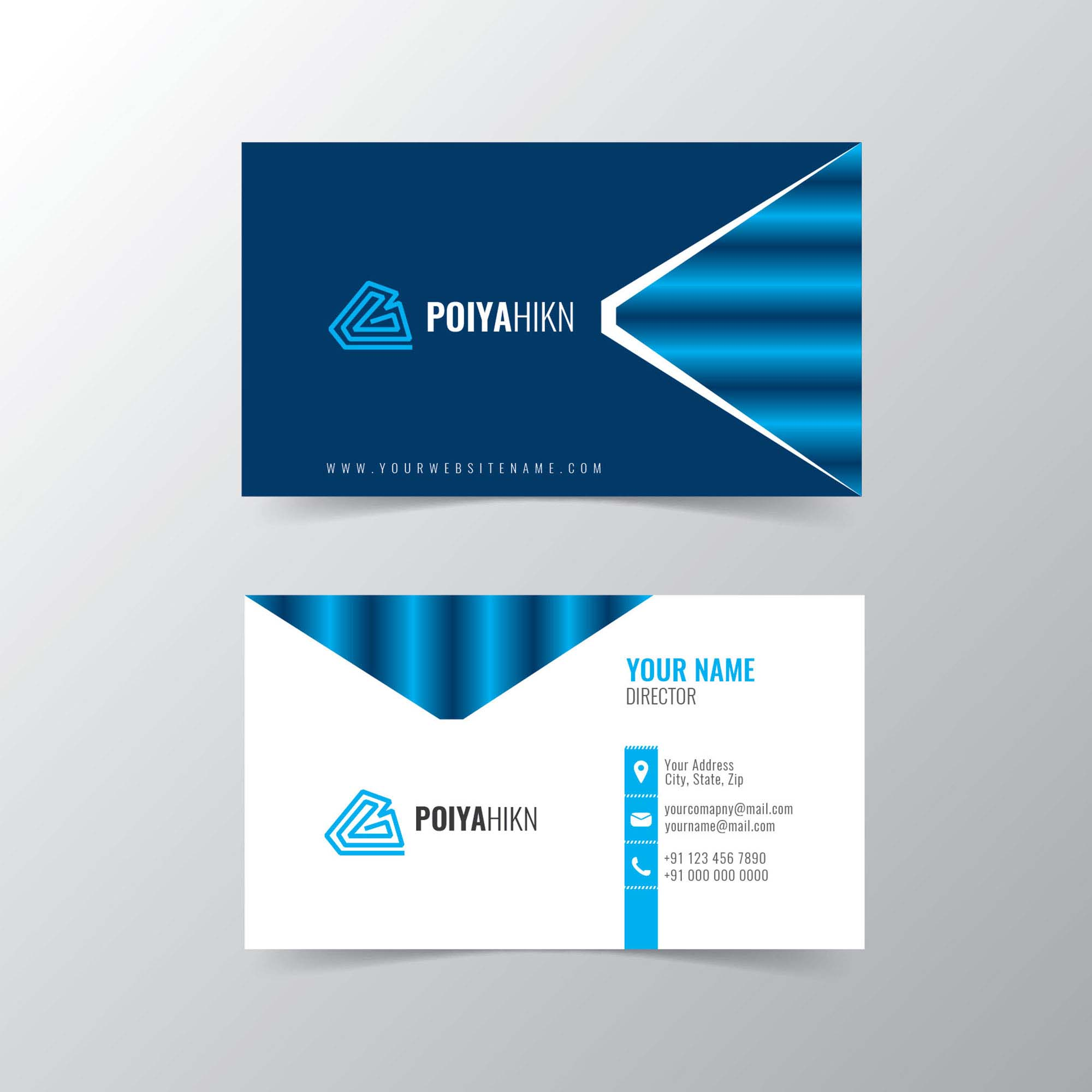 Creative visiting card free download print ready wisxi creative business card visiting card modern business card template reheart Gallery