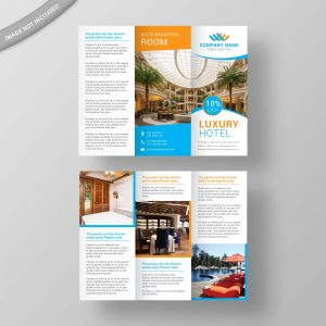 hotel, brochure, design, template, business, creative