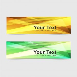 banner, design, vector, template. abstract, modern