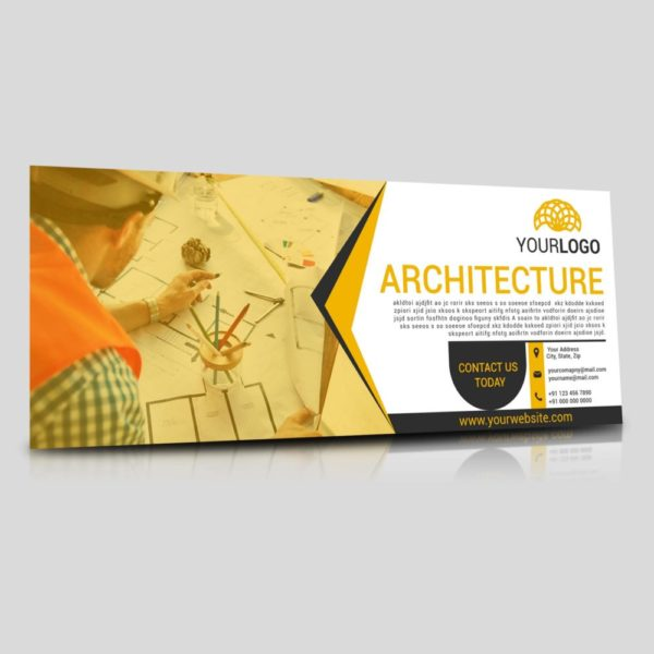 Facebook timeline cover photo for architecture brand