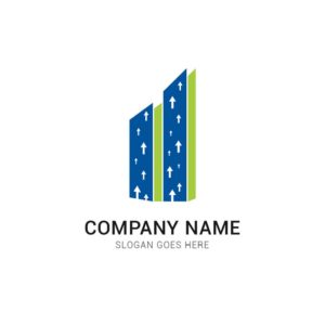 investment, company, logo, design, vector, business, template, arrow