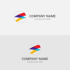 flash, logo, design, colorful, company, vector, business