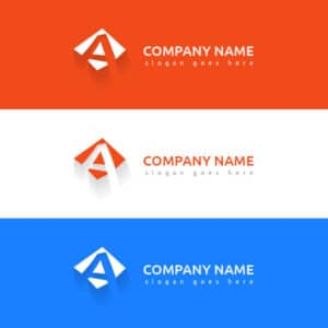 letter, a, logo, design, a logo, company logo, vector, template, abstract