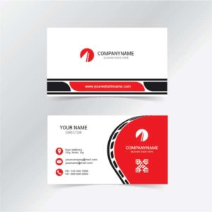 Visiting card template, business card, business card template, business card design