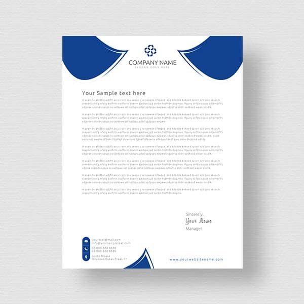 Sample business letterhead