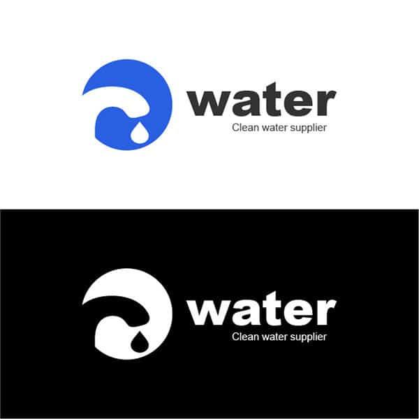 Water company logo