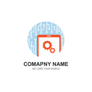 mobile icon, mobile repair logo, logo design, icon design, template, free vector