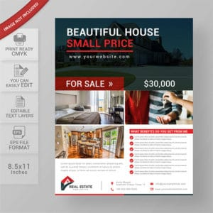 commercial, real estate, flyer template, business, design