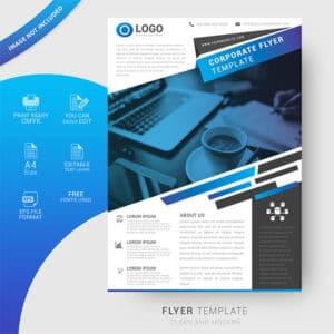 creative, corporate, flyer design, free flyer template, company, professional