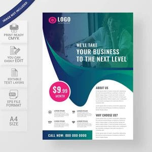 Multipurpose corporate business flyer design