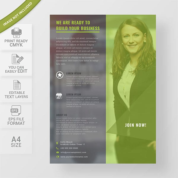 Business flyers design