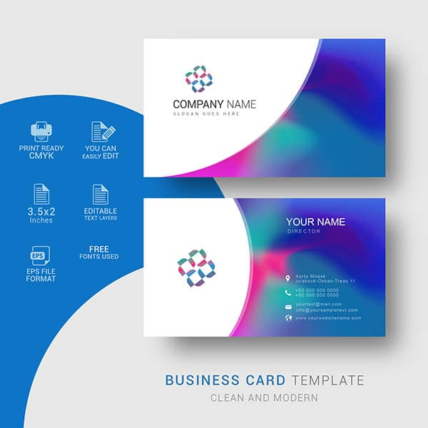 Creative business cards template