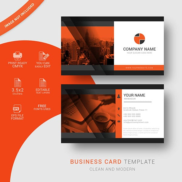 Visiting card templates