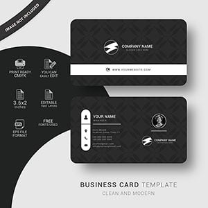 Personal card design