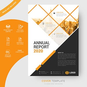 annual report, cover design, free vector, business, corporate