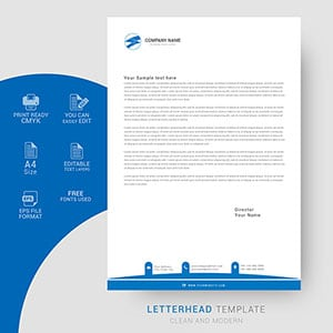 letterhead, design, business, minimalist, company, corporate