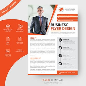 Custom business flyer template