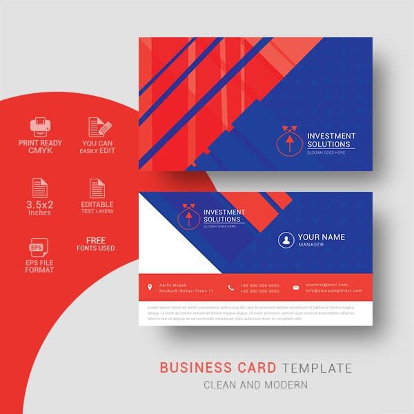 business card, design, vector, template, corporate, visiting card