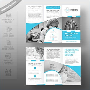 medical, brochure, tri fold brochure, brochure design, graphic, healthcare