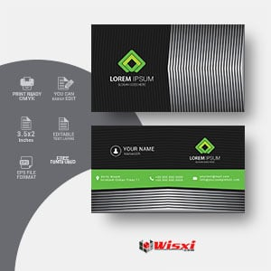 Business card vectors template