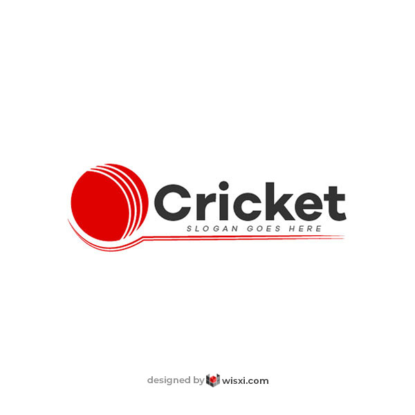 Cricket logo design