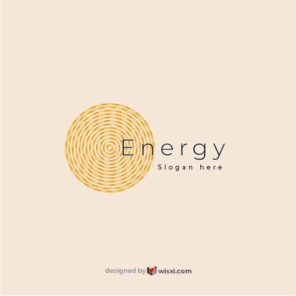 Energy logo vector