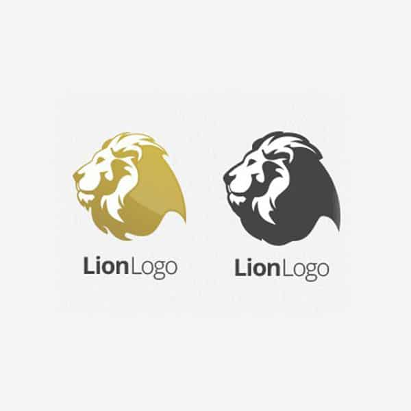 Lion logo design mascot