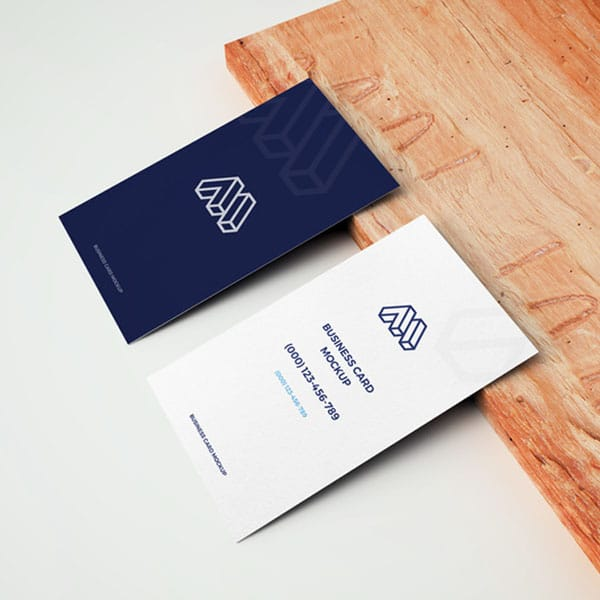 Professional business card template design