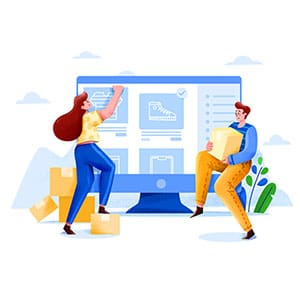 E-Commerce and online shopping design