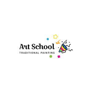 Vector Art School Logo