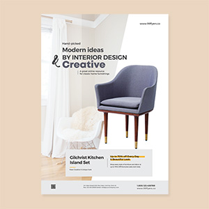 Free Minimalist Furniture Flyer