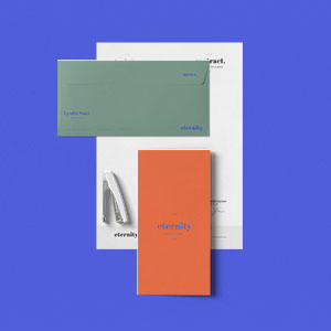 Free Simple Stationery Mockup