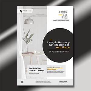 Minimal Furniture & Interior Flyer Template