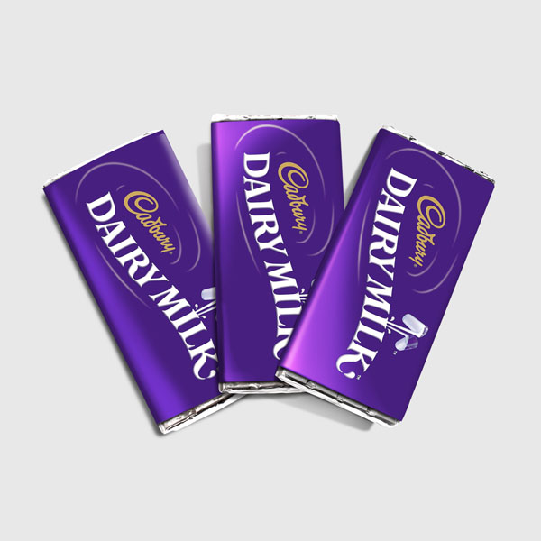 Dairy Milk Chocolate Mockup