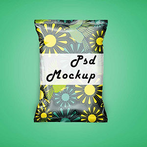 Free Chips Packaging Mockup
