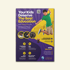 Education Institute Flyer Template