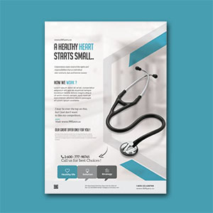 Medical Coronavirus Flyer Template