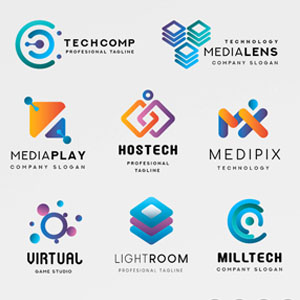 Logo technology template